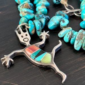 Rock Critters Turquoise Nugget Necklace